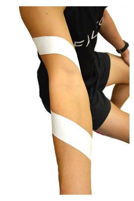 Tennis elbow rigid tape
